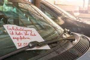 Fahrerflucht und Strafe