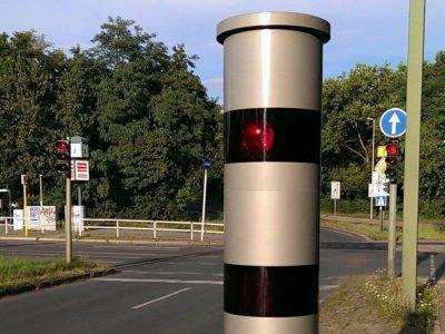 Blitzer in Berlin Steglitz