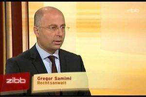 Gregor Samimi in der RBB Sendung Zibb