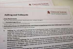 Service und Formulare der Gregor Samimi Rechtsanwaltskanzlei