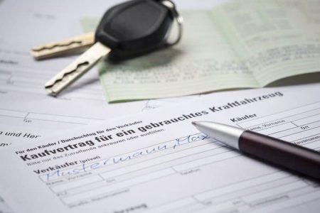 Gebrauchtes Auto Kaufvertrag