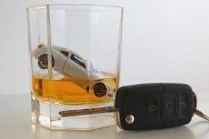 Bußgeld aufgrund Alkoholeinflusses am Steuer.