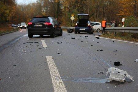 Verkehrsunfall auf der Landstraße