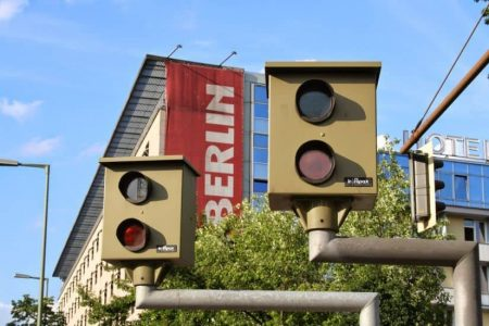 Traffipax Rotlichtüberwachung