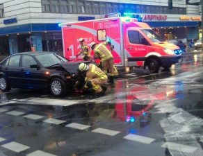 Verkehrsunfall nach einer Trunkenheitsfahrt.