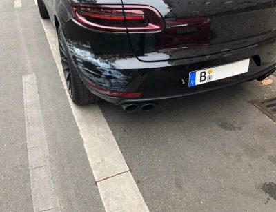 Schaden beim Ausparken