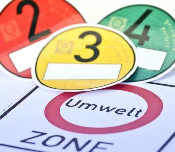 Grune Plakette Vergabe Der Umweltplakette Feinstaubplakette C