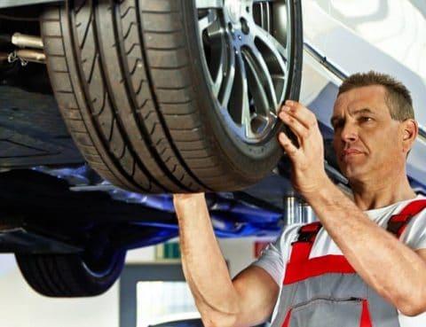 Mindestprofiltiefe der Reifen sollte stets eingehalten weden.
