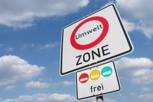 Umweltzonen machen Plaketten erforderlich.
