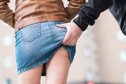 Sexuelle Nötigung auf der Straße