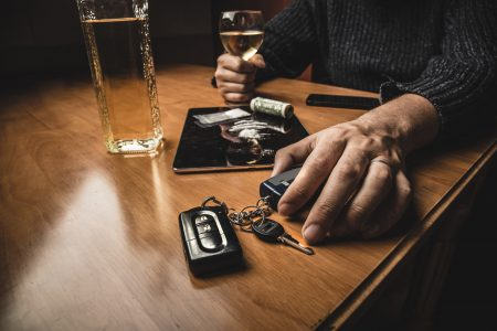 Wiederholter Alkohol am Steuer